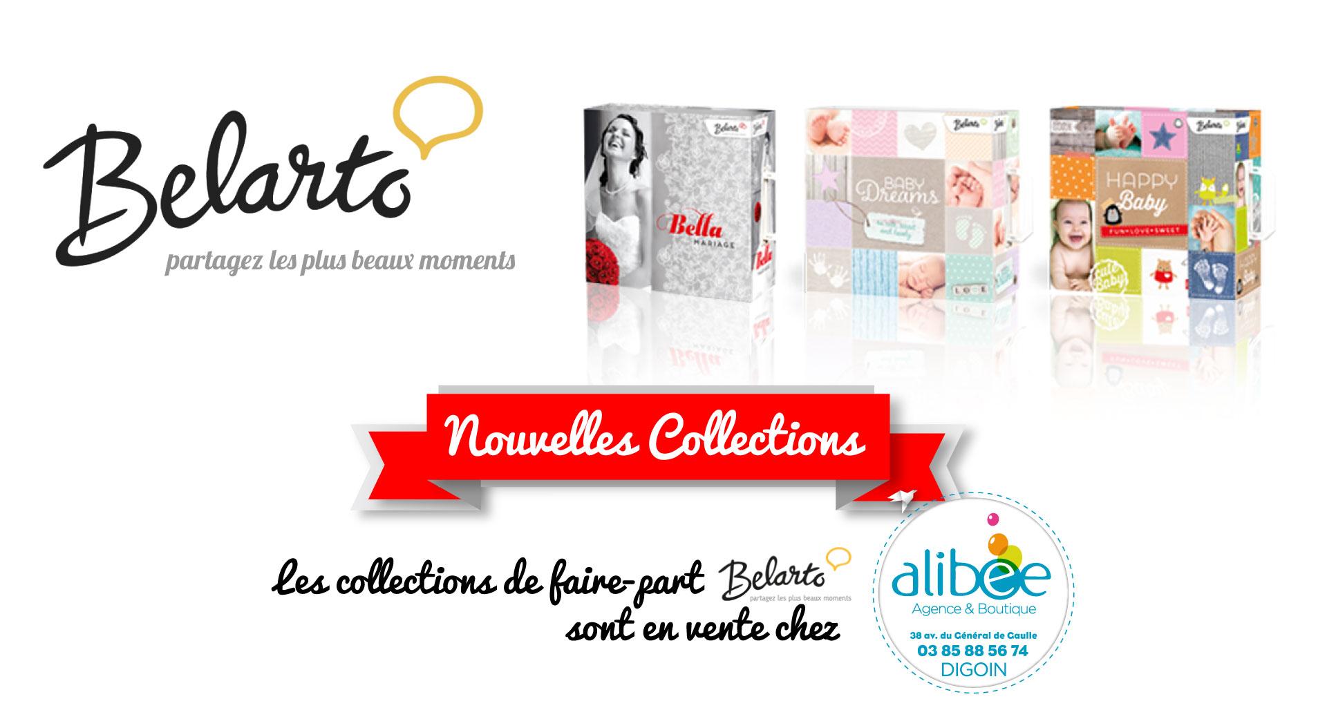 Nouvelles collections Belarto